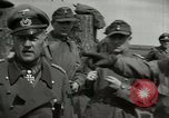 Image of German soldiers surrender at Tangermunde Tangermunde Germany, 1945, second 10 stock footage video 65675077889