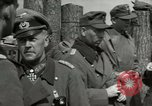 Image of German soldiers surrender at Tangermunde Tangermunde Germany, 1945, second 11 stock footage video 65675077889