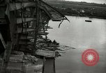 Image of German soldiers and civilians cross Elbe river after Surrender of Germany in World War 2 Tangermunde Germany, 1945, second 6 stock footage video 65675077891