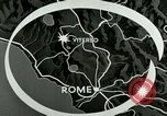 Image of aerial bombing Viterbo Italy, 1944, second 2 stock footage video 65675077894