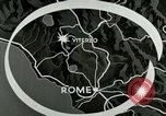 Image of aerial bombing Viterbo Italy, 1944, second 3 stock footage video 65675077894