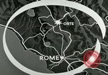 Image of aerial bombing Orte Italy, 1944, second 4 stock footage video 65675077896