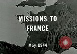 Image of aerial bombing Orleans France, 1944, second 1 stock footage video 65675077898