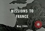 Image of aerial bombing Orleans France, 1944, second 2 stock footage video 65675077898