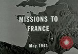 Image of aerial bombing Orleans France, 1944, second 3 stock footage video 65675077898