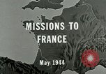 Image of aerial bombing Orleans France, 1944, second 4 stock footage video 65675077898