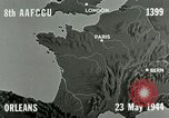 Image of aerial bombing Orleans France, 1944, second 9 stock footage video 65675077898
