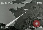 Image of aerial bombing Orleans France, 1944, second 12 stock footage video 65675077898