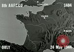 Image of bombing an airfield Orly France, 1944, second 2 stock footage video 65675077899