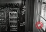 Image of aviation cadets in dining hall San Antonio Texas USA, 1950, second 5 stock footage video 65675077921