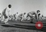 Image of physical exercise San Antonio Texas USA, 1950, second 9 stock footage video 65675077922