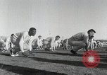 Image of physical exercise San Antonio Texas USA, 1950, second 10 stock footage video 65675077922