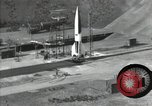Image of A-4 missile Peenemunde Germany, 1942, second 1 stock footage video 65675077939