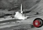 Image of A-4 missile Peenemunde Germany, 1942, second 9 stock footage video 65675077939