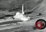 Image of A-4 missile Peenemunde Germany, 1942, second 10 stock footage video 65675077939