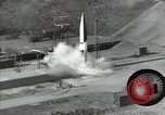 Image of A-4 missile Peenemunde Germany, 1942, second 11 stock footage video 65675077939