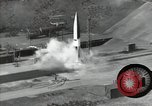Image of A-4 missile Peenemunde Germany, 1942, second 12 stock footage video 65675077939