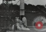 Image of A-4 missile Peenemunde Germany, 1942, second 8 stock footage video 65675077942