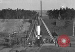 Image of A-4 missile launch Peenemunde Germany, 1942, second 1 stock footage video 65675077949