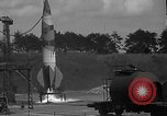 Image of camouflaged A-4 missile launch Peenemunde Germany, 1942, second 2 stock footage video 65675077953