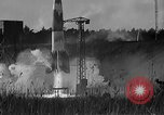 Image of German A-4 missile Peenemunde Germany, 1942, second 4 stock footage video 65675077955