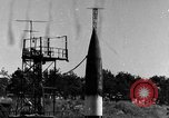 Image of German A-4 missile Peenemunde Germany, 1943, second 1 stock footage video 65675077959