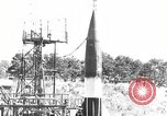 Image of German A-4 missile Peenemunde Germany, 1943, second 2 stock footage video 65675077959