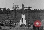 Image of A-4 missile misfires Peenemunde Germany, 1943, second 1 stock footage video 65675077960