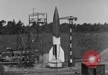 Image of A-4 missile misfires Peenemunde Germany, 1943, second 2 stock footage video 65675077960
