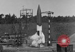 Image of A-4 missile misfires Peenemunde Germany, 1943, second 3 stock footage video 65675077960