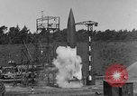 Image of A-4 missile misfires Peenemunde Germany, 1943, second 4 stock footage video 65675077960