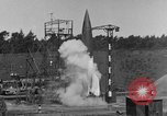 Image of A-4 missile misfires Peenemunde Germany, 1943, second 5 stock footage video 65675077960
