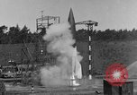 Image of A-4 missile misfires Peenemunde Germany, 1943, second 6 stock footage video 65675077960