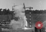 Image of A-4 missile misfires Peenemunde Germany, 1943, second 7 stock footage video 65675077960