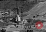 Image of A-4 missile misfires Peenemunde Germany, 1943, second 1 stock footage video 65675077961