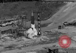 Image of A-4 missile misfires Peenemunde Germany, 1943, second 2 stock footage video 65675077961