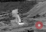 Image of A-4 missile misfires Peenemunde Germany, 1943, second 5 stock footage video 65675077961