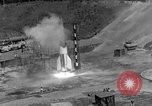 Image of A-4 missile misfires Peenemunde Germany, 1943, second 8 stock footage video 65675077961