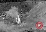 Image of A-4 missile misfires Peenemunde Germany, 1943, second 9 stock footage video 65675077961