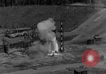 Image of A-4 missile misfires Peenemunde Germany, 1943, second 3 stock footage video 65675077962