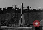 Image of A-4 missile misfiring Peenemunde Germany, 1943, second 2 stock footage video 65675077965