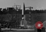 Image of A-4 missile misfiring Peenemunde Germany, 1943, second 5 stock footage video 65675077965