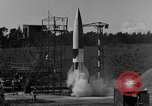 Image of A-4 missile misfiring Peenemunde Germany, 1943, second 7 stock footage video 65675077965