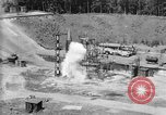 Image of A-4 missile misfiring Peenemunde Germany, 1942, second 7 stock footage video 65675077969