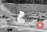 Image of A-4 missile misfiring Peenemunde Germany, 1942, second 8 stock footage video 65675077969