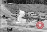Image of A-4 missile misfiring Peenemunde Germany, 1942, second 10 stock footage video 65675077969