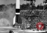 Image of A-4 missile misfiring Peenemunde Germany, 1942, second 7 stock footage video 65675077971
