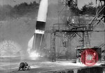 Image of A-4 missile misfiring Peenemunde Germany, 1942, second 12 stock footage video 65675077971