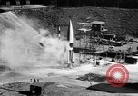 Image of German Aggregat-4 missile Peenemunde Germany, 1942, second 4 stock footage video 65675077972