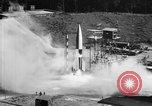 Image of German Aggregat-4 missile Peenemunde Germany, 1942, second 5 stock footage video 65675077972